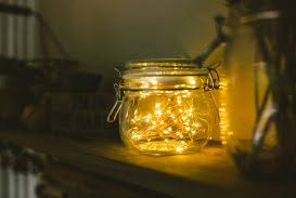 fairy light decoration ideas mason jars striking fairy light jar picture design lights decorating