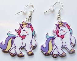 unicorn earrings unicorn earrings etsy