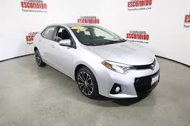 lexus escondido service hours certified pre owned 2014 toyota corolla 4dr car in escondido