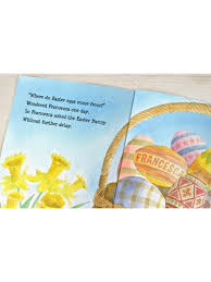 easter bunny book easter bunny story personalised book
