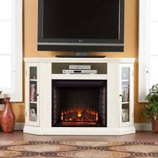 free standing gas fireplace an unused free standing ventless