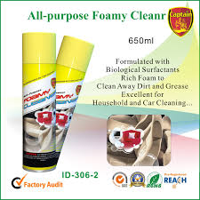 universal foam cleaner genuine leather car interior roof cleaning