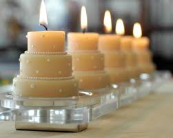 simple bridal shower diy simple bridal shower centerpiece mini wedding cake candles
