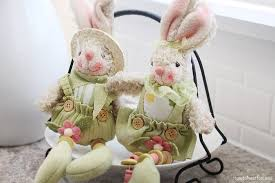 bunny decorations easter kitchen décor how to nest for less