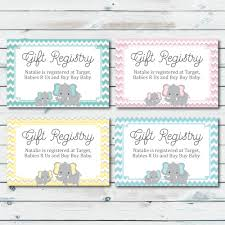 baby shower registry stores baby registry cards registry inserts baby shower gift