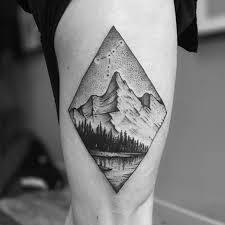 1000 images about tatts on pinterest geometric mountain tattoo