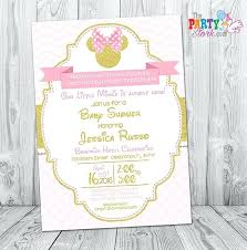 baby minnie mouse 1st birthday baby minnie mouse invitations also like this item baby minnie