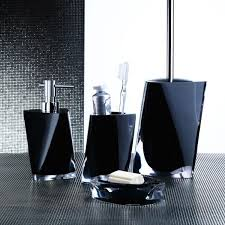 twist black bathroom accessory set twist black bathroom accessory