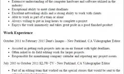 video resume examples the best resume