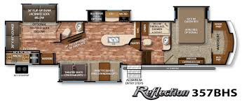 Salem Rv Floor Plans by Reflection Fifth Wheel Specifications Grand Design Rv Dream