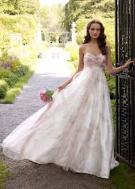 floral wedding dresses wedding dress non traditional bohemian wedding dresses non