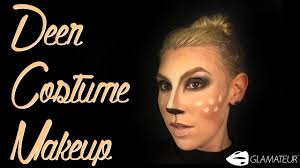 vegan halloween makeup tutorial quick u0026 easy how to deer