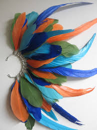 how to make feather ear cuffs handmade earrings peeny wallie boutique