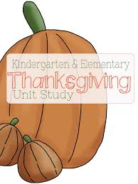 thanksgiving unit study for early elementary and link up