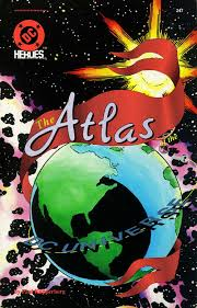 map of dc universe usa atlas of the dc universe dc database fandom powered by wikia