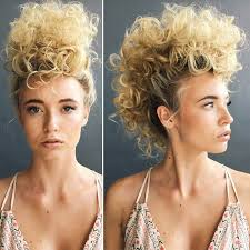 best 25 curly mohawk hairstyles ideas on pinterest black mohawk