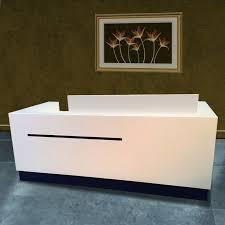 Wholesale Reception Desk Factory Wholesale Price Sale Modern White Acrylic Portable