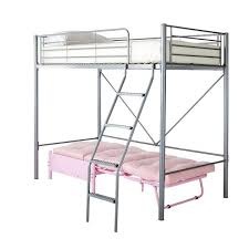 High Sleeper With Futon Kidspace Montana High Sleeper Bed With Futon Single Bargain Crazy