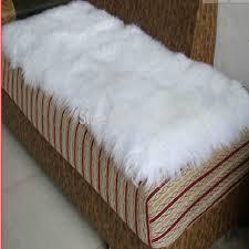 tappeti di pelliccia tappeto decorativo bianco tappeto di pelle di pecora pecora