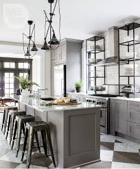 Open Metal Shelving Kitchen by Industrial Style Kitchen Lighting We Were Really Drawn To The