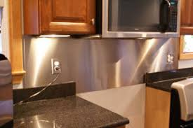 kitchen backsplash sheets sheet metal back splash things billie can make herself