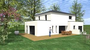 maison bois interieur davaus net u003d maison bois moderne toit plat avec des idées