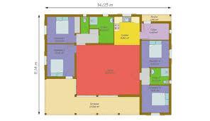 plan de maison 4 chambres plain pied plan maison bois plain pied 4 chambres