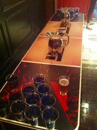 Beer Pong Table Size Custom Pub 1842 Beer Pong Table Random Thoughts From The People
