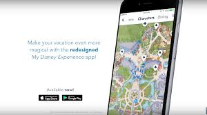 new my disney experience app launches makes planning walt disney