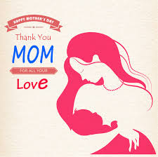mother day backdrop mother holding baby icons sketch free vector