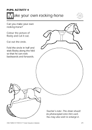 paper rocking horse template plans diy free download how to build