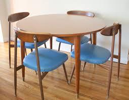 mid century round dining table authorstrack