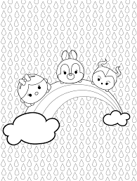 disney tsum tsum coloring pages getcoloringpages com