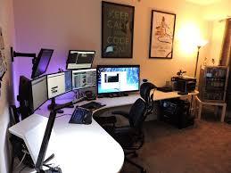 Gaming Desk Setup by 42 Best Desk Setup Ideas Images On Pinterest Gaming Setup Desk