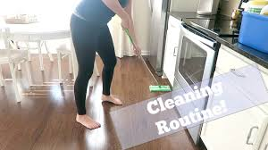 cleaning routine youtube