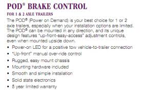 reese electrical brake control systems