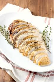 thanksgiving turkey glaze slow cooker maple herb butter turkey breast with apple cider glaze