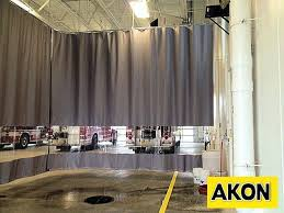 Plastic Sheet Curtains Paint And Spray Booth Curtains Akon U2013 Curtain And Dividers