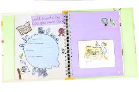 baby record book baby s record book as a button parragon books