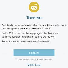 should i buy right now amazon black friday reddit latest alien blue update gifts pro users with four years of reddit