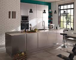 cuisine inox meuble de cuisine subway inox castorama cool interiors