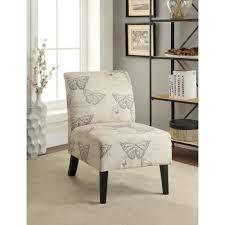 Home Decor Accent Linon Home Decor Eucalyptus Dark Espresso Linen Accent Chair