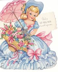 475 best doll cards images on greeting cards vintage