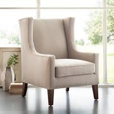 home interior cream modern wing back chair ideas stylish