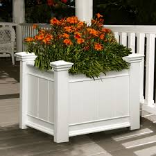 home design planter boxes with modern rectangle best planters