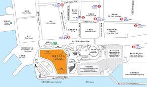 Hong Kong Metro Map by Hong Kong Cultural Centre Location
