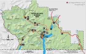 Glacier Park Map Experience Waterton Lakes National Park Experienceexperience