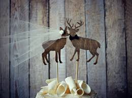 buck and doe cake topper wedding cake topper wedding cake idea