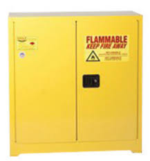 Yellow Flammable Storage Cabinet Airgas E421932 Eagle 30 Gallon Yellow 18 Steel Safety