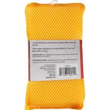 auto drive microfiber sponge bug scrubber walmart com